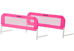 Mesh Security Bed Rail Double Pack-Pink