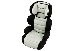 Black and Ivory Deluxe Booster Car Seat