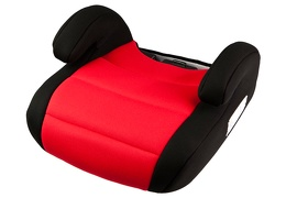 Deluxe Booster Car Seat - Red