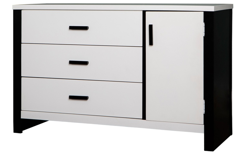 608_W_Cafeina 3 Drawer Chest_Side_Silo - Black and White.jpg