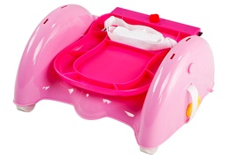 Pink Brewster Folding Booster Seat