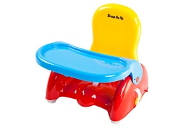 Red Brewster Folding Booster Seat