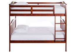 Cody 2 in 1 Bunk Bed-Mahogany