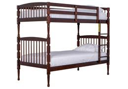 Julia 2 in 1 Bunk Bed - Mahogany