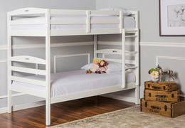 Nova 2-in-1 Twin Over Twin Bunk Bed