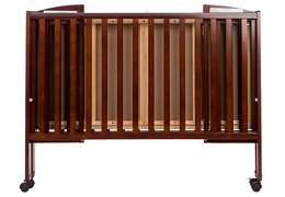 Espresso Folding Full size Crib Silo