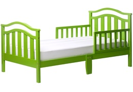 Green Elora Toddler Bed Silo