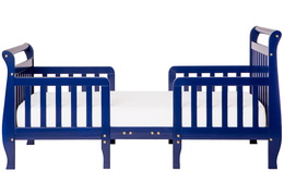 Dark Blue Emma Toddler Bed Silo Front