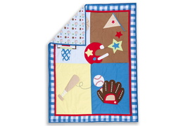 All-Star Athlete 3 Pc Reversible Full Size crib set
