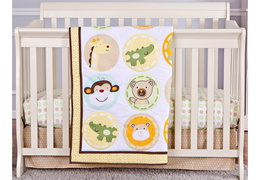 Animal Kingdom 3 Pc Reversible Full Size crib set