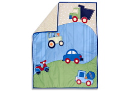 Travel Time 4 Pc Toddler Bedding Set