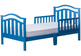 Wave Blue Elora Toddler Bed Silo