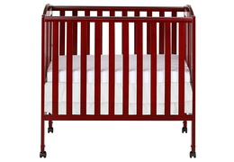 683 C Cherry 3 in 1 Folding Portable Crib Silo