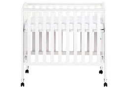 White 3 in 1 Folding Portable Crib Silo