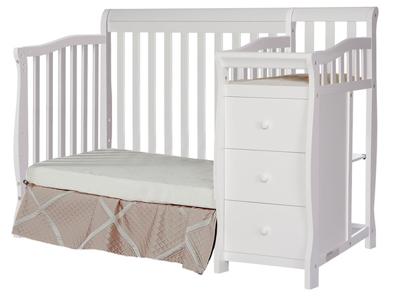 629-W Jayden Day Bed and Changer Silo