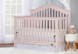 Charlotte 5 in 1 Convertible Crib