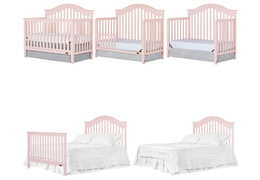 Charlotte 5 In 1 Convertible Crib Silo Collage