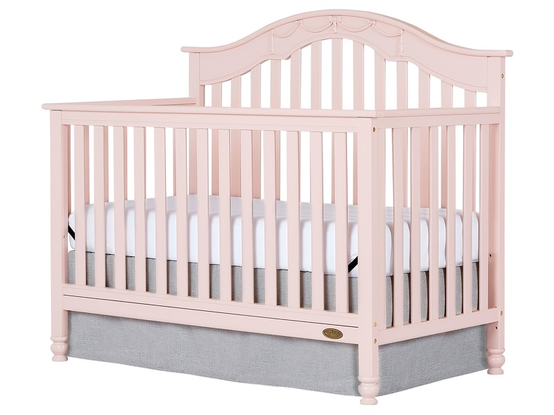 Charlotte 5 In 1 Convertible Crib Silo Side