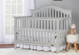Charlotte 5 In 1 Convertible Crib Room Shot