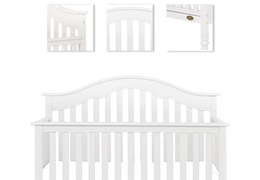 Charlotte 5 In 1 Convertible Crib Silo Details