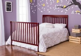 Cherry Alissa 5 in 1 Full Bed with Footboard