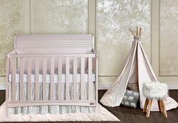 Bailey 5 in 1 Convertible Crib