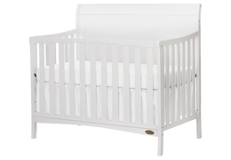 751-W Bailey 5 In 1 Convertible Crib Silo Side