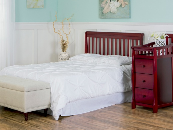 Cherry Brody 5 in 1 Full Size Bed