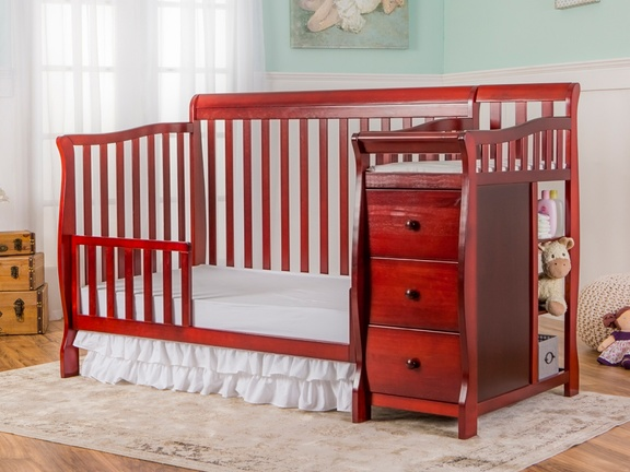 Cherry Brody 5 in 1 Toddler Bed with Changer