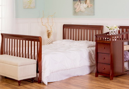 Espresso Brody Full Size Bed with Footboard