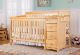 Natural Brody 4 in 1 Crib