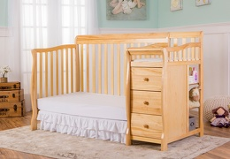 Natural Brody 4 in 1 Day Bed