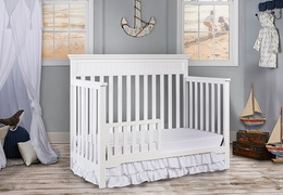 Snow Fall Chesapeake Toddler Bed Room Shot