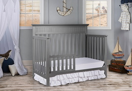 Storm Grey Chesapeake Toddler Bed Room Shot