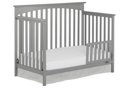 Storm Grey Davenport Toddler Bed Silo
