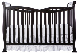 Black Violet 7 in 1 Crib Front