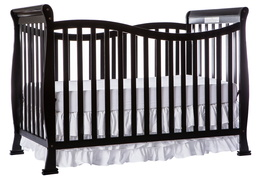 Black Violet 7 in 1 Crib Side
