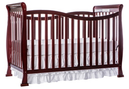 Cherry Violet 7 in 1 Crib Silo Side
