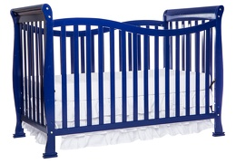 Royal Blue Violet 7 in 1 Crib Front