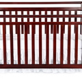Cherry Liberty 5 in 1 Crib Silo Front