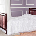 Cherry Liberty 5 in 1 Full Bed with Footboard Room Shot