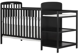 678-B Anna 4 in 1 Full Size Crib and Changing table Side Silo