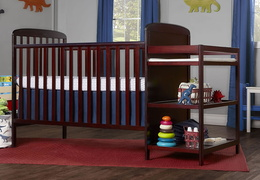 678-C Anna 4 in 1 Full Size Crib and Changing table Side