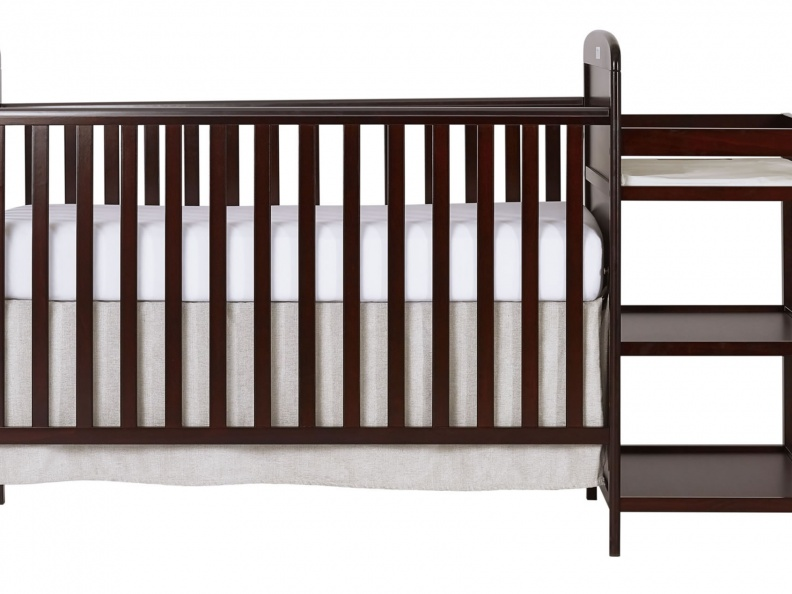 678-C Anna 4 in 1 Full Size Crib and Changing table Silo