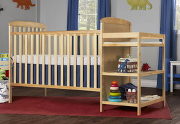 678-N Anna 4 in 1 Full Size Crib and Changing table Side
