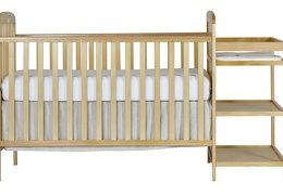 678-N Anna 4 in 1 Full Size Crib and Changing table Silo