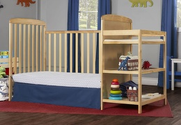 678-N Anna 4 in 1 Full Size Day Bed Changing table