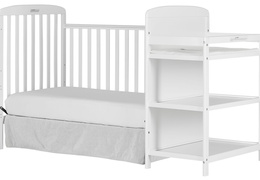 678-W Anna 4 in 1 Full Size Day Bed Changing table Silo