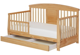 Natural Deluxe Toddler Bed Silo