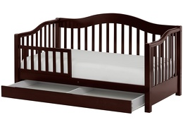 Espresso Toddler Day Bed Silo